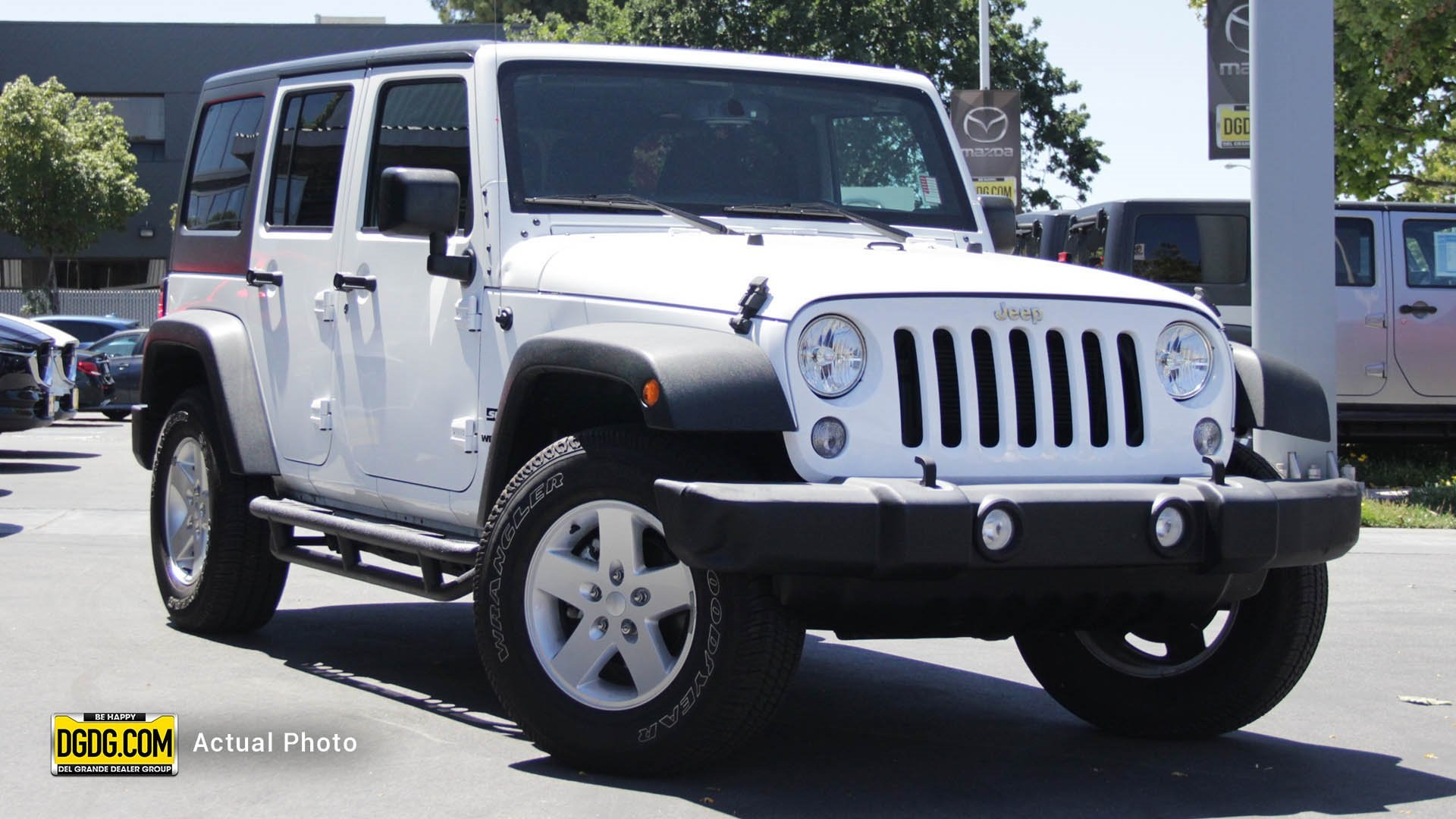 Jeep Wrangler Unlimited Sport >> Pre Owned 2017 Jeep Wrangler Unlimited Sport Convertible In San Jose