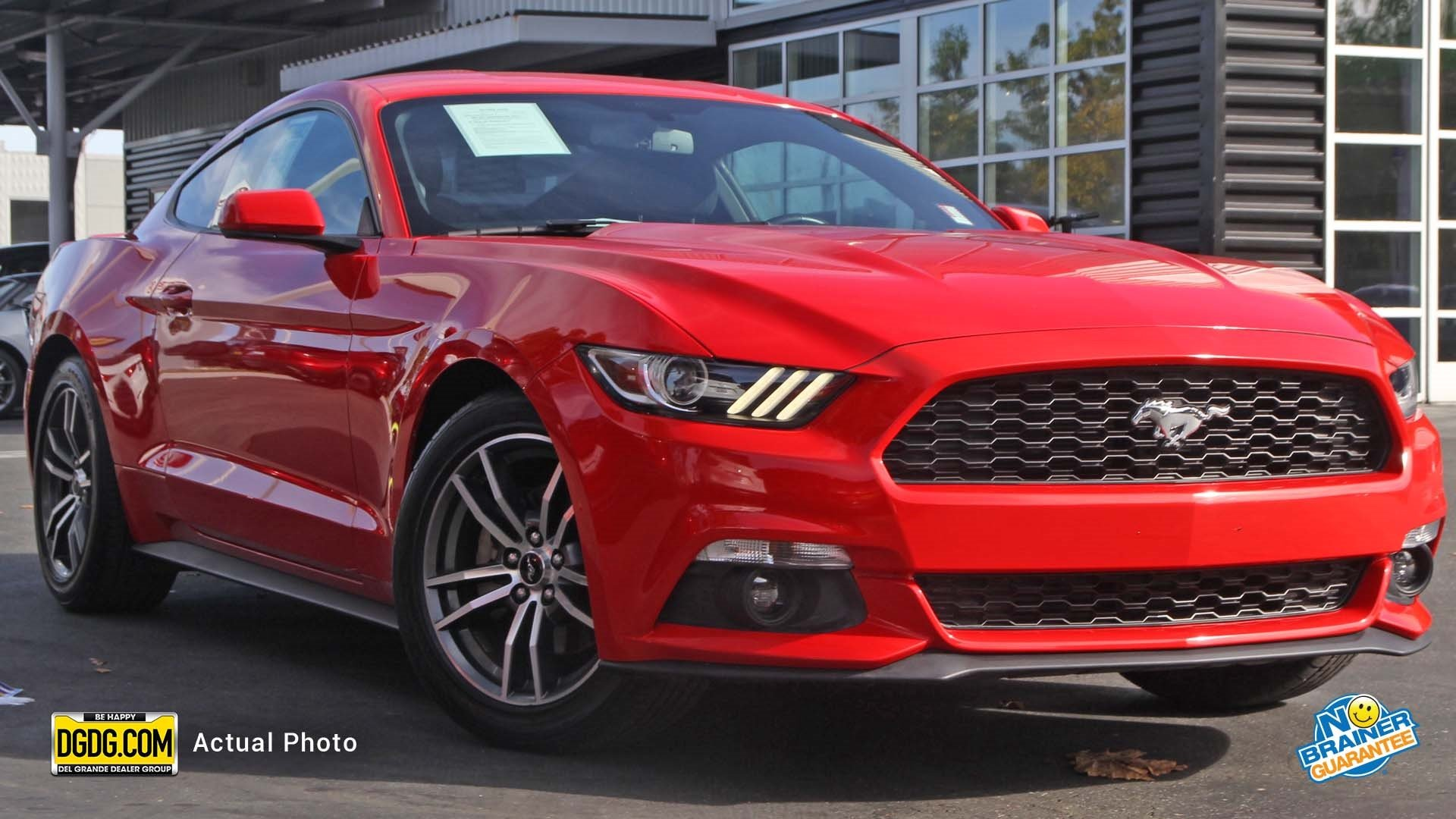 Pre Owned 2016 Ford Mustang EcoBoost 2dr Car in San Jose UO