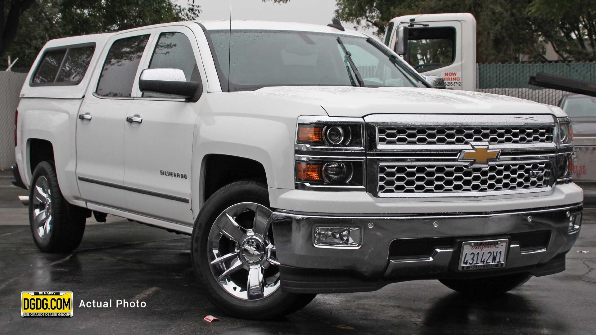 Pre Owned 2015 Chevrolet Silverado 1500 Ltz Crew Cab Pickup In San