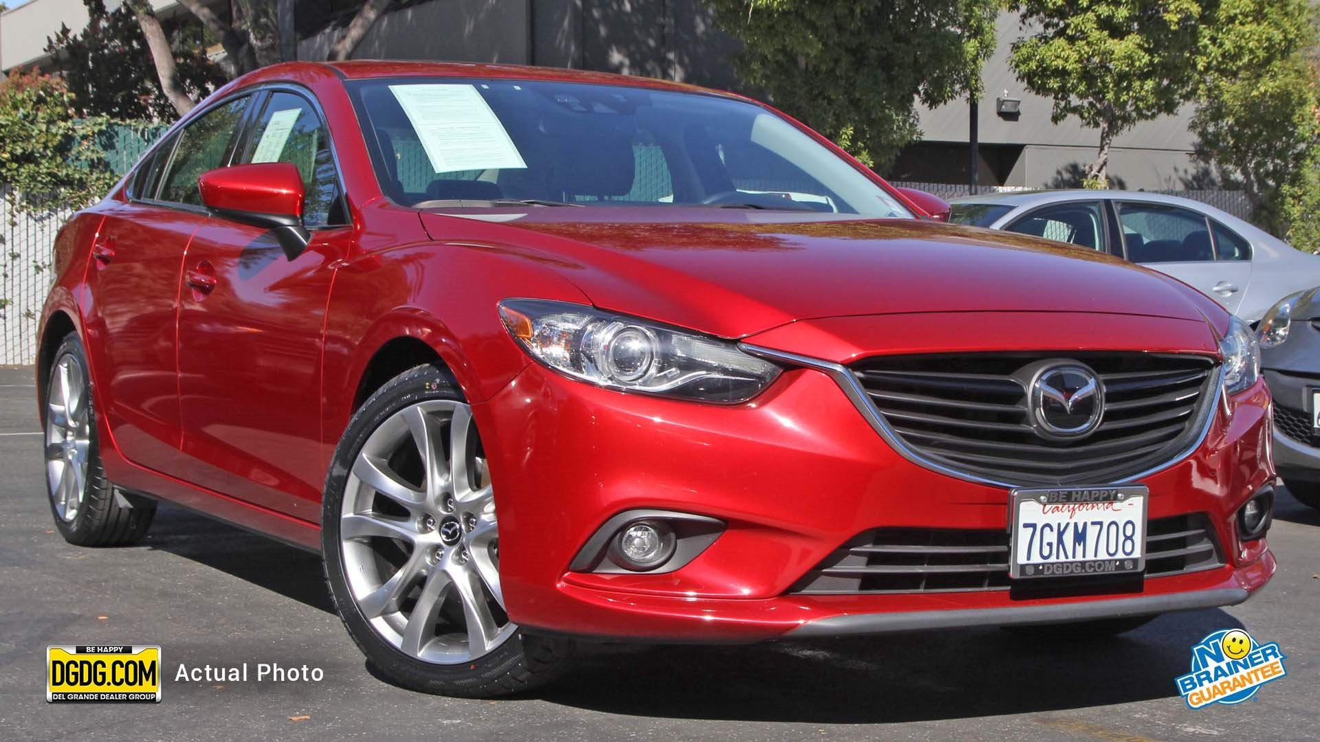 Certified Pre Owned 2015 Mazda Mazda6 i Grand Touring 4dr Car in San