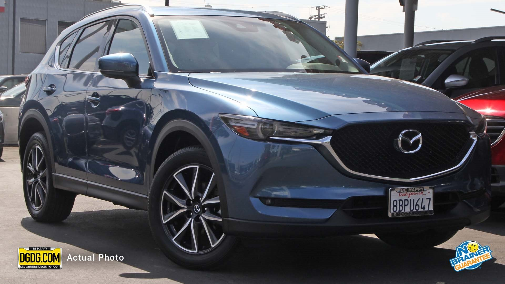 Certified Pre Owned 2017 Mazda CX 5 Grand Select Sport Utility in