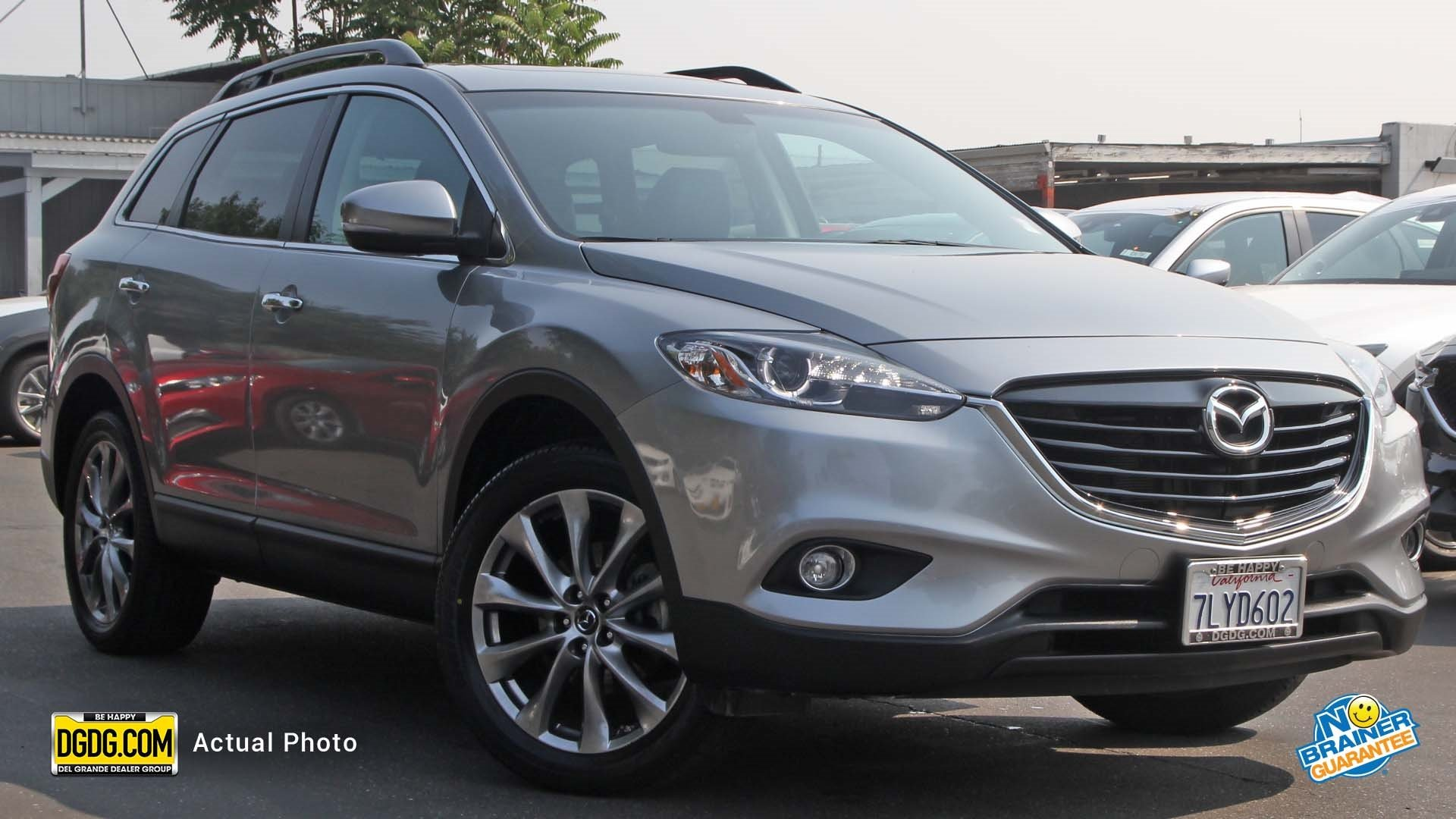 Certified Pre Owned 2015 Mazda CX 9 Grand Touring Sport Utility in