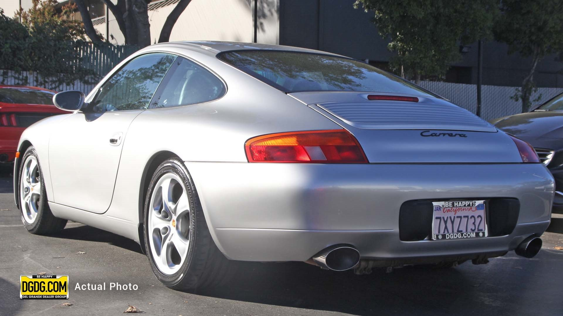 Pre Owned 1999 Porsche 911 Carrera Carrera 2dr Car in San Jose