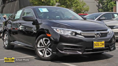 2018 Honda Civic Sedan LX FWD 4dr Car