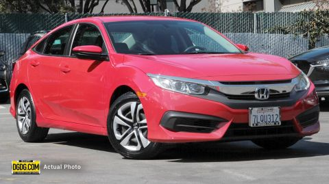 2016 Honda Civic Sedan LX FWD 4dr Car