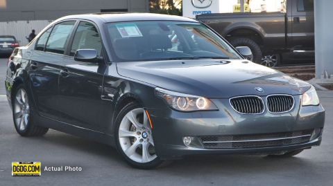 2009 BMW 5 Series 535i RWD 4dr Car